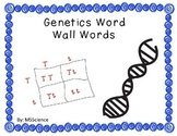 Genetics Word Wall Words