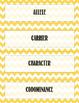 Genetics Word Wall and Vocabulary Bundle