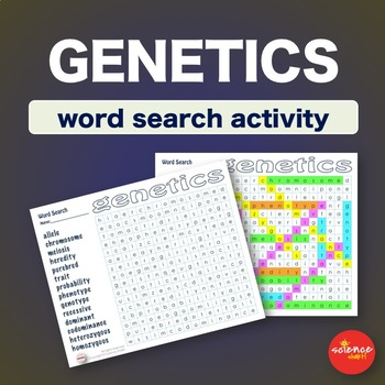 Genetics * WordSearch * Vocabulary * Warm Up * Bell Ringer *