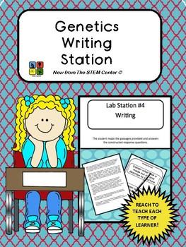Genetics Writing Station