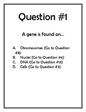 Genetics and Evolution Scavenger Hunt
