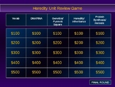 Genetics and Heredity Jeopardy Review Game