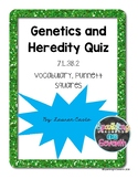 Genetics and Heredity Quiz