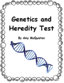 Genetics and Heredity Test and Study Guide