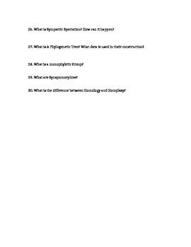 Genetics and Mutations Worksheet