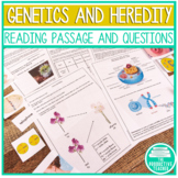 Genetics and Reproduction: Activities, Notes, Quizzes, and Test