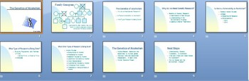 Genetics of Alcoholism Smartboard Notebook Presentation Lesson Plan