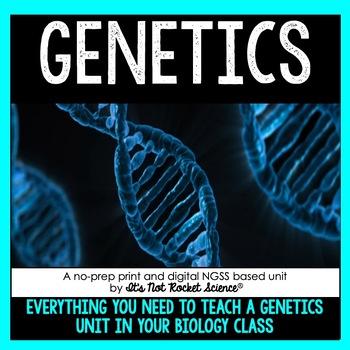 Genetics Unit By It S Not Rocket Science Teachers Pay Teachers