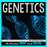 Genetics Unit - Distance Learning Compatible