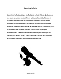 Genevieve Pelletier - paragraph reading