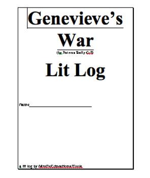Genevieve's War Lit Log