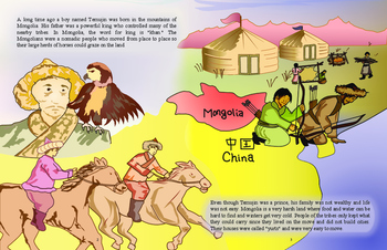 """""""Genghis Goes to China!"""""""""""
