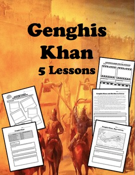 Genghis Khan 5 Lesson Packet