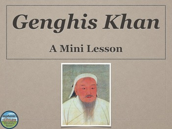 Genghis Khan Mini Lesson