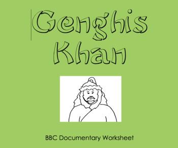 Genghis Khan - Documentary Worksheet