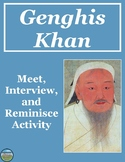 Genghis Khan Interview Review Activity