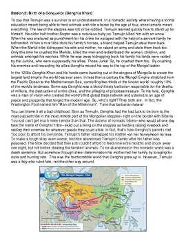Genghis Khan - Mongol Empire