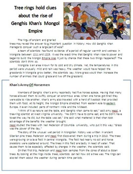 Genghis Khan - Mongol Ruler of the Middle Ages