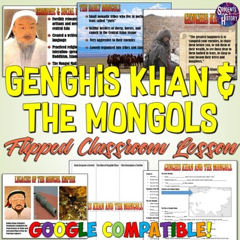 genghis khan and the mongol empire powerpoint lesson by students of