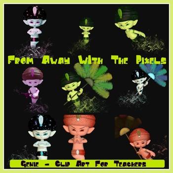 Genie Clip Art For Teachers - Genie Clipart