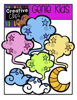 Genie KIDS {Creative Clips Digital Clipart}