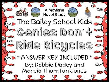 Genies Don't Ride Bicycles (The Bailey School Kids) Novel Study / Comprehension
