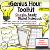 Genius Hour, 20% Time Digital Notebook & Toolkit for Google Classroom