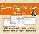 Genius Hour / 20 Time Materials