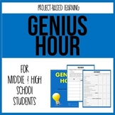 Genius Hour - 20% Time - Passion Project