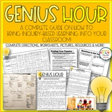 Genius Hour, 20% Time, Inquiry Based Learning, Project Based Learning