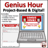 Genius Hour Digital Activity | Google Slides