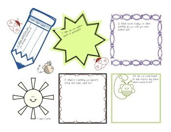 Genius Hour Brainstorming Activity in COLOR