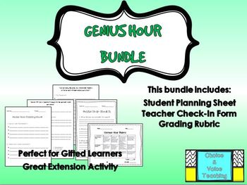 Genius Hour Bundle