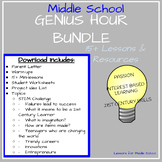 Genius Hour - Bundle of Units (Middle School)