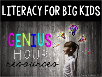 Genius Hour Classroom Materials (Teacher & Student) Editable Parent Letters