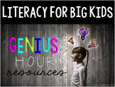 Genius Hour Classroom Materials (Teacher & Student) Editab