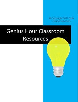 Genius Hour Classroom Resources