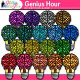 Genius Hour Clip Art {Inquiry Based Learning to Increase P