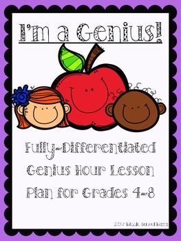 Genius Hour Complete 9 Week Lesson Bundle