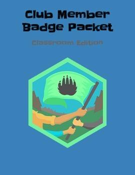 Genius Hour: DIY Style Club Member Badge Packet