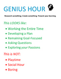 Genius Hour - Everything You Need to Get Started
