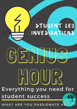 Genius Hour - Everything you need for student led success #christmasinjuly
