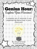 Genius Hour: Explore Your Passions!