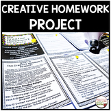 Homework Alternative - The Creative Homework Project
