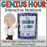 Project Based Learning Genius Hour Interactive Notebook Distance Learning