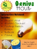 Genius Hour:  Interactive Notebook