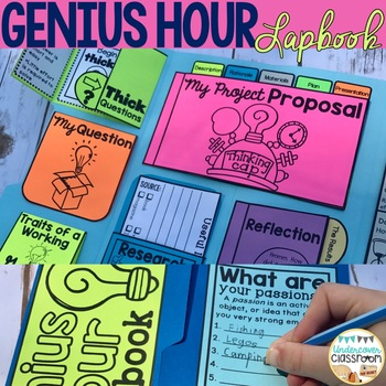 Genius Hour Lapbook: Interactive Kit and Informational Passage