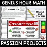 Genius Hour Math Unit