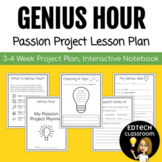 Genius Hour Passion Project Lesson Plan | Interactive Notebook