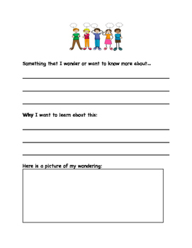 WHOLE SCHOOL Differentiated Genius Hour Passion Pages